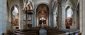 Nave of the cahtedral, le Puy en Velay
