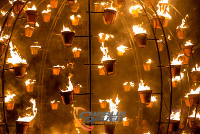 Carabosse Fire Gardens - Bournemouth Arts by the Sea Festival 2014 photos