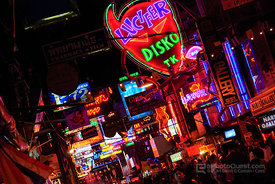 The Signs of Walking Street