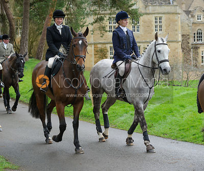 The Cottesmore Hunt at Exton Hall 4/2 photos