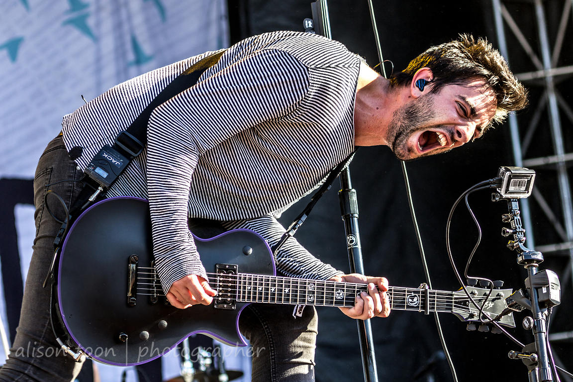 Jack Barakat, guitar, All Time Low
