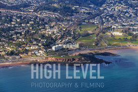 Aerial Photography Taken In and Around Torquay-Hollicombe Beach