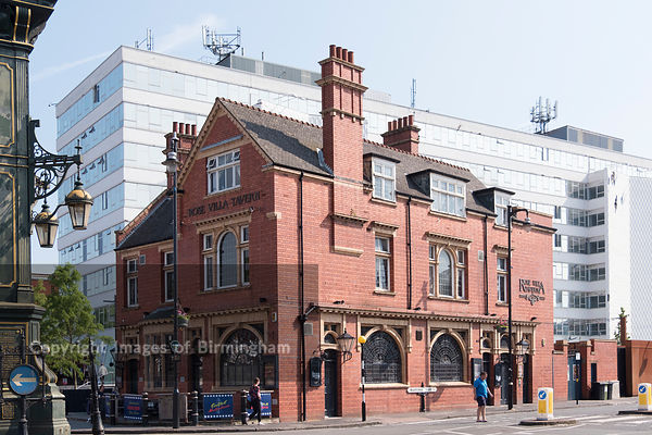 Rose Villa Tavern, The Jewellery Quarter of Birmingham, England