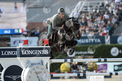 Emanuele GAUDIANO ,(ITA), ADMARA 2 during Longines Cup of the City of Barcelona competition at CSIO5* Barcelona at Real Club de Polo, Barcelona - Spain