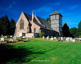 st mary magdalen church stretton sugwas near hereford herefordshire england