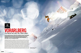 Skieur Magazine (French) - Vorarlberg article - 7 pages