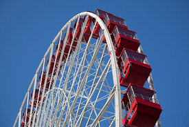 Navy Pier Ferris Wheel in Chicago