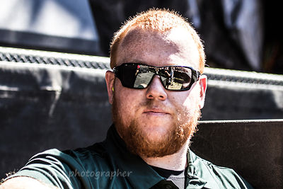 Security in the photo pit, Aftershock 2014
