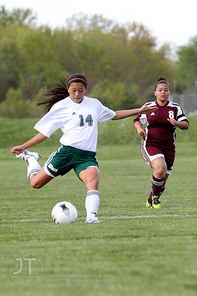 Iowa City West vs Waterloo West Girls Varsity Soccer April 12, 2012