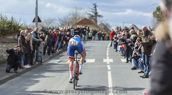 The Cyclist Arnaud Demare - Paris-Nice 2016