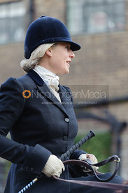 Philippa Holland - Dianas of the Chase - Side Saddle Race 2014.