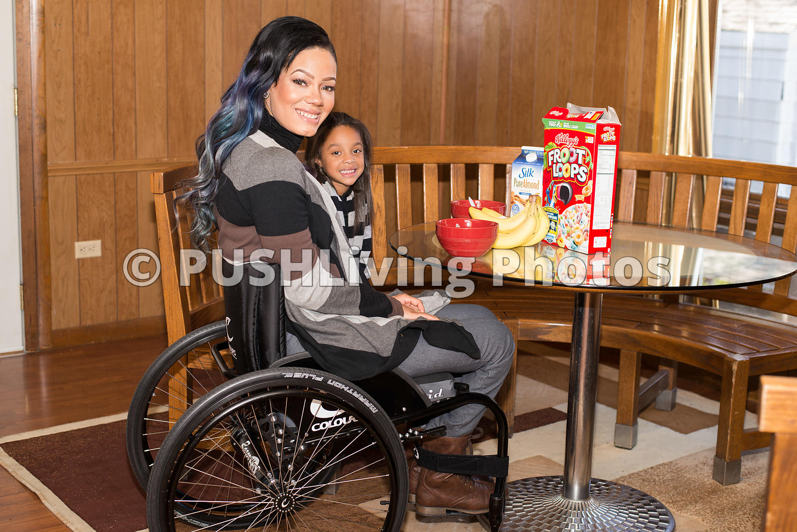 pictures Young Mom Ends Up in Wheelchair After Using Friends Makeup Brush