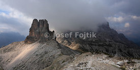 Neighbourhood of the Tre Cime di Lavaredo, Sexten Dolomites, North Italy