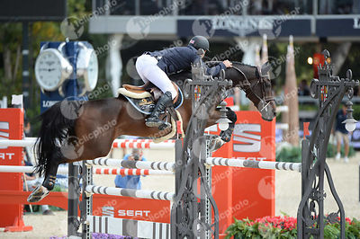 Joe CLEE ,(GBR), VEDET DE MUZE E T during Queen's Cup - Segura Viudas Trophy competition at CSIO5* Barcelona at Real Club de Polo, Barcelona - Spain