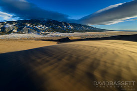 Blowing Sand | Great Sand Dunes National Park, CO