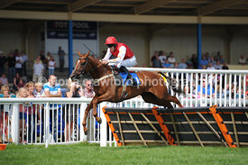 2.20pm 1st Sept 2013 Novices Hurdle Race with winner Falcarragh