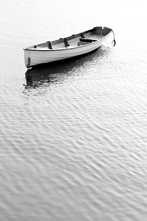 BOAT ROCKPORT CAPE ANN MASSACHUSETTS BLACK AND WHITE VERTICAL