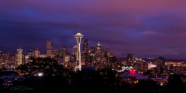 Seattle Night
