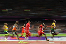 Olympics 2012 - Track and Field 100m Final