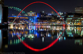 The River Tyne at Night