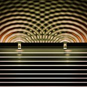 Double Slit Experiment 10 variant 8