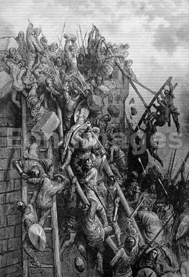 Battle of Antioch during First Crusade