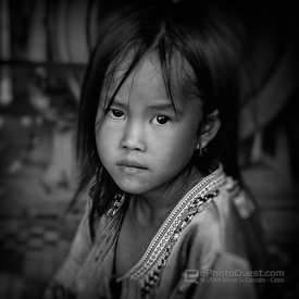 Young Hmong Girl Posing