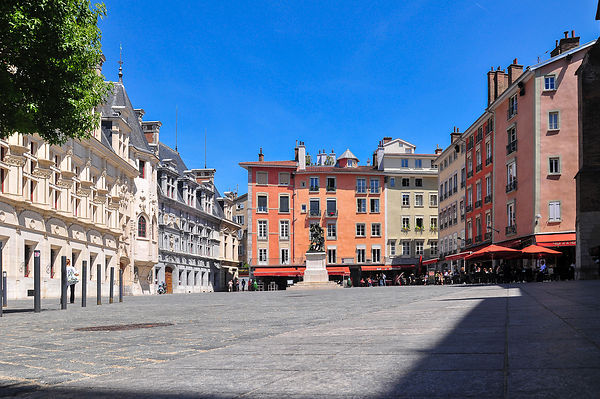 Place Saint André à Grenoble