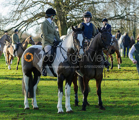 Followers at the meet at Pickwell Manor