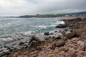 Neils_Harbour_Light_from_north_shore_COR_4765