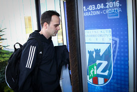 Xavi SABATE of Veszprém during the Final Tournament - Final Four - SEHA - Gazprom league, team arrival in Varazdin, Croatia, 31.03.2016, ..Mandatory Credit ©SEHA/Zsolt Melczer.