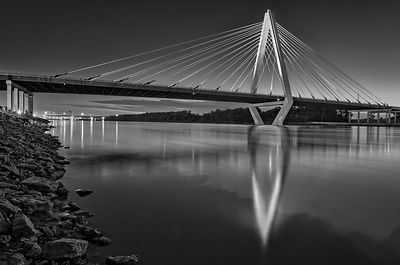 Christopher S. Bond Bridge at Night