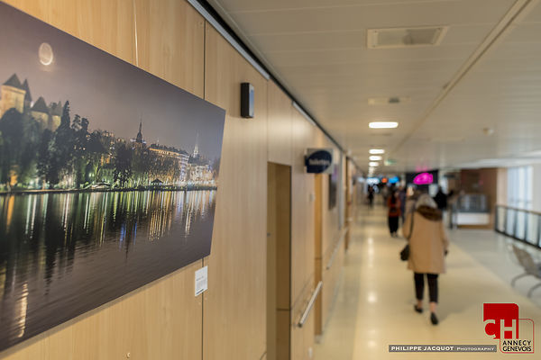 "EXHIBITION ""LACS ETOILES"" ANNECY HOSPITAL- January/February 2016 photos"