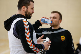 Stojanche STOILOV of Vardar during the Final Tournament - Final Four - SEHA - Gazprom league, training, Varazdin, Croatia, 31.03.2016, ..Mandatory Credit ©SEHA/Stanko Gruden..