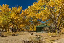 Campground at Orilla Verde Recreation Site in Rio Grande del Norte National Monument