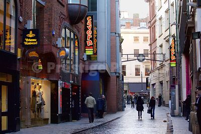The new Cavern Club next to the Vivienne Westwood Store in Mathew Street Liverpool