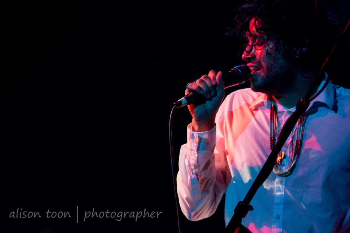 Octavio Genera, vocals, The Soft White Sixties at the Assembly, Sacramento