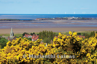 Dee Estuary and Hilbre from Grange Hill