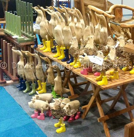 DUCKS IN A ROW – AT THE BOAT SHOW photos