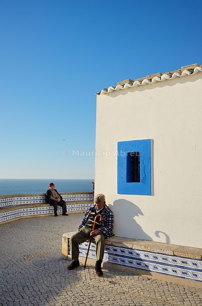 Sleeping in the sun. Ericeira, Portugal  (no model release)