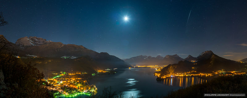 Iridium under the Moon - Talloires