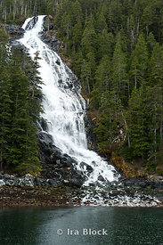 Kasnyku Fall in Sitka County, Alaska.