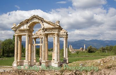Tetrapylon Gateway to Temple of Aphrodite, Aphrodisias