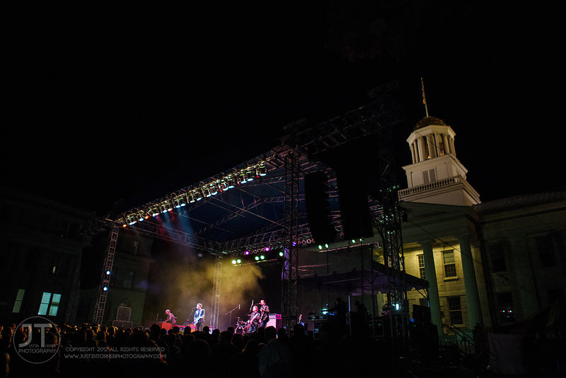 Hoopla - The Wallflowers, UI Homecoming, October 10, 2014 photos