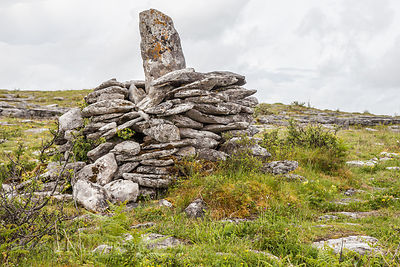 Stone pile, The Burren, Ireland