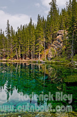 Upper Grassi Lake Reflections