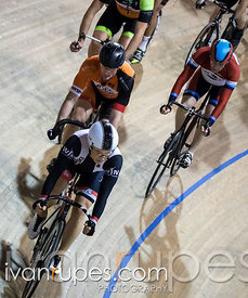 Master B Scratch Race. Ontario Track Provincial Championships, March 4, 2016
