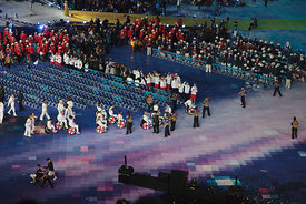 Paralympic Opening Ceremony - Team GB Arrive