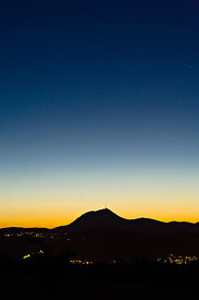 The Puy de Dome at twilight