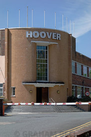 Hoover factory, Merthyr Tydfil, South Wales.